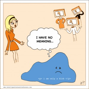 blobs have no meaning - comic